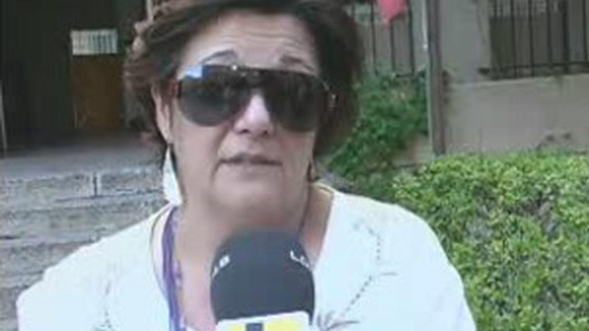 Isabel Moreno denunció a Jose María Domínguez García por presuntas agresiones.