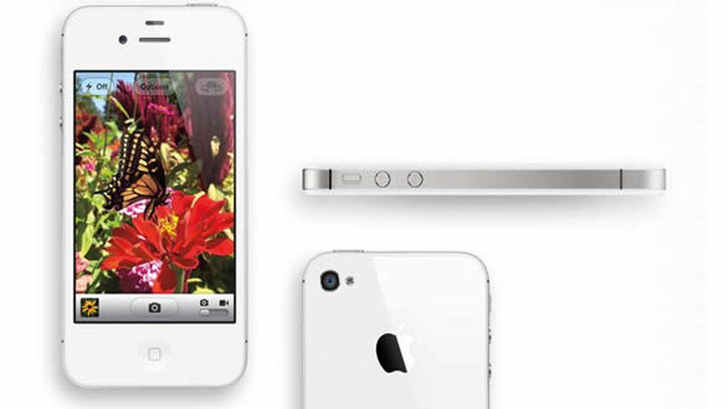El iPhone 4S.tiene un procesador A5 el doble de rápido que su antecesor, y destaca por una cámara de 8 megapíxeles con posibilidad de grabar vídeo en alta definición.