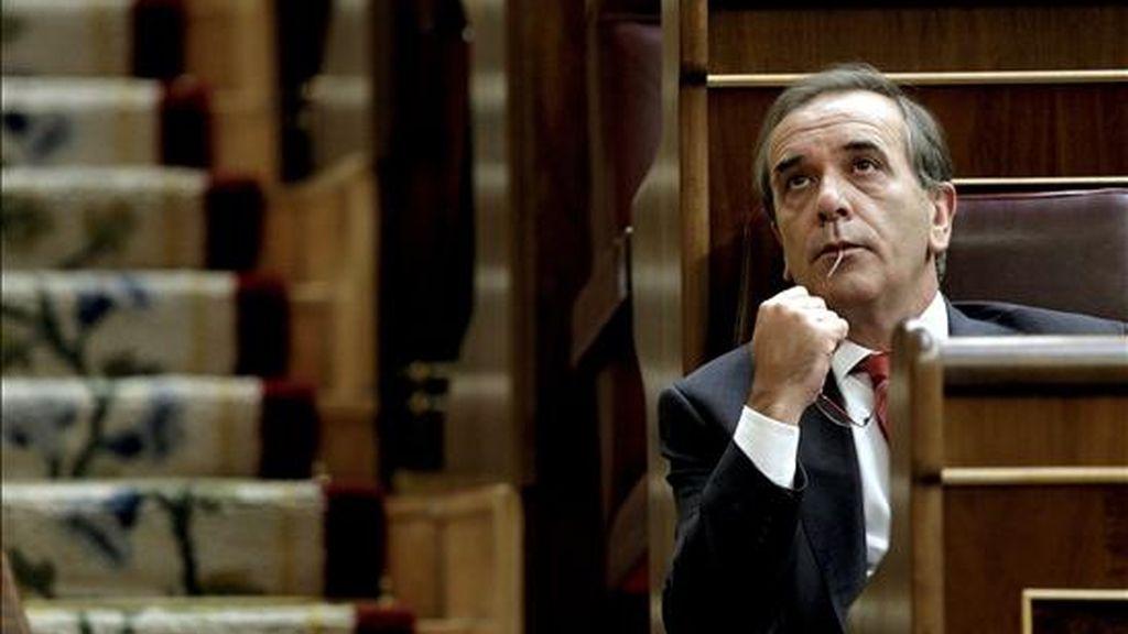 El portavoz del PSOE en el Congreso, José Antonio Alonso. EFE/Archivo