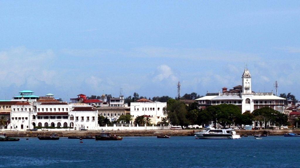 Las vistas de los palacios de Zanzibar