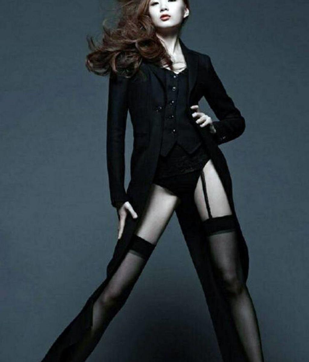 Dong Li, una de las modelos con piernas más largas del planeta
