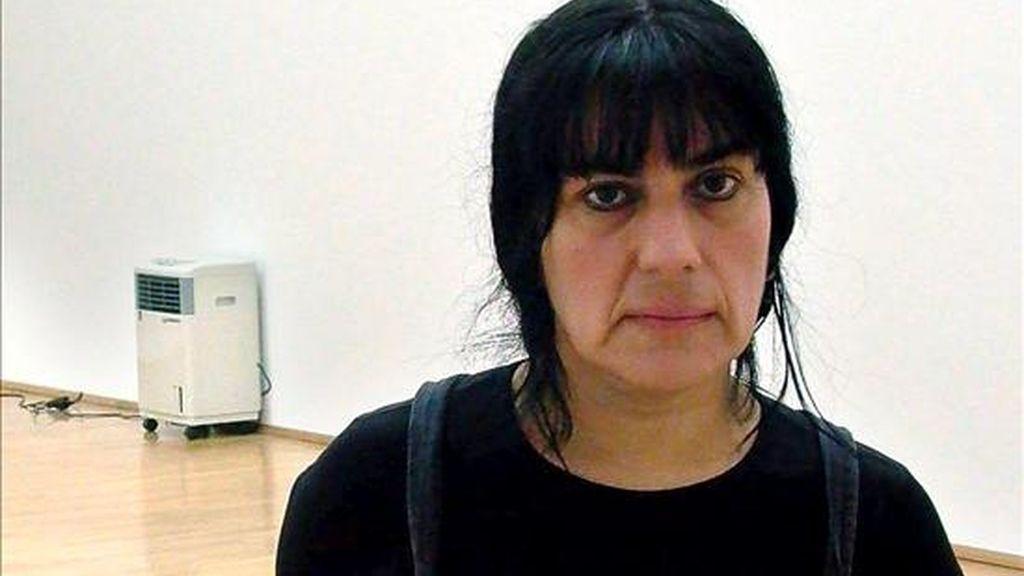 La artista mexicana Teresa Margolles. EFE/Archivo