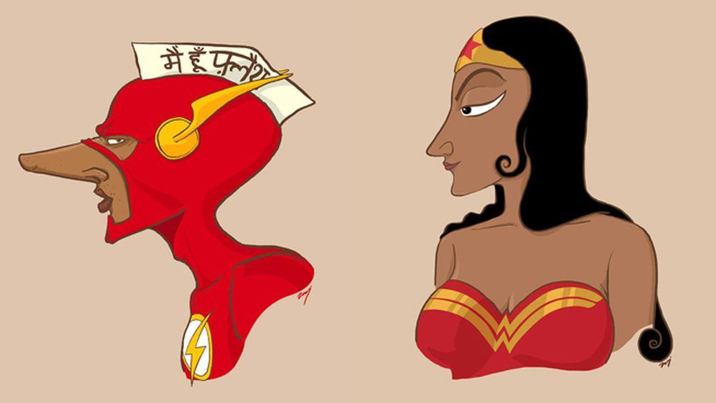 ¿Y si los superhéroes fueran indios?
