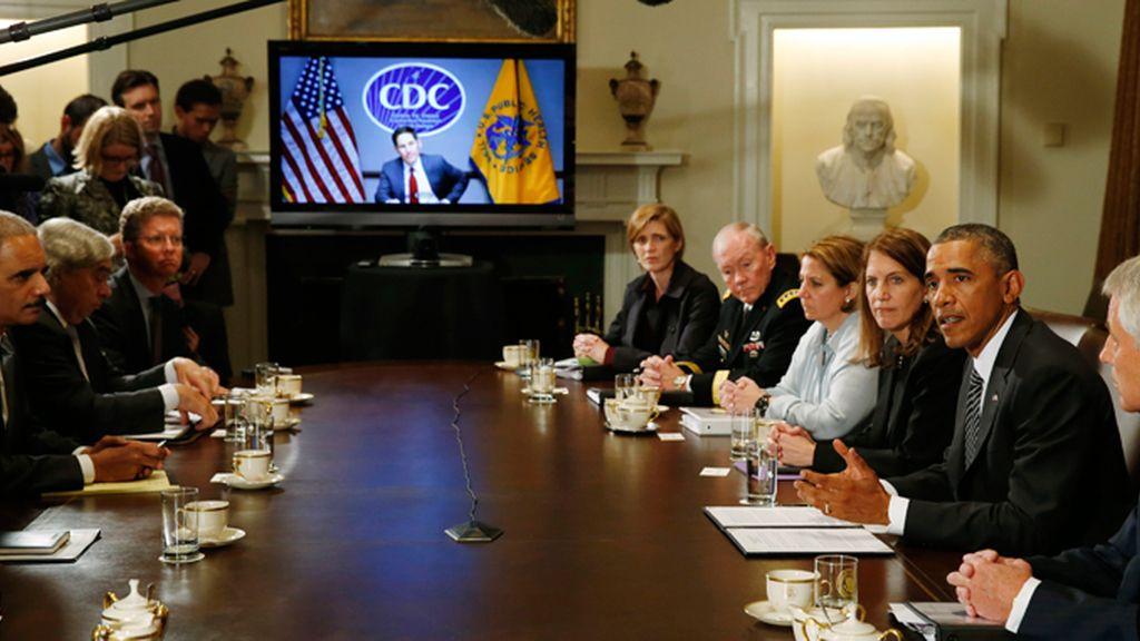 Obama coordina la lucha contra el ébola