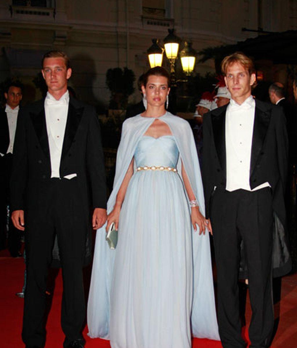 Pierre, Carlota y Andrea Casiraghi