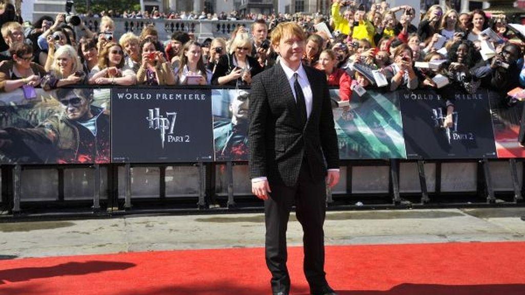 Rupert Grint, en la alfombra roja