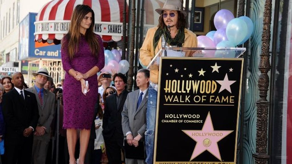Penélope Cruz ya tiene su estrella