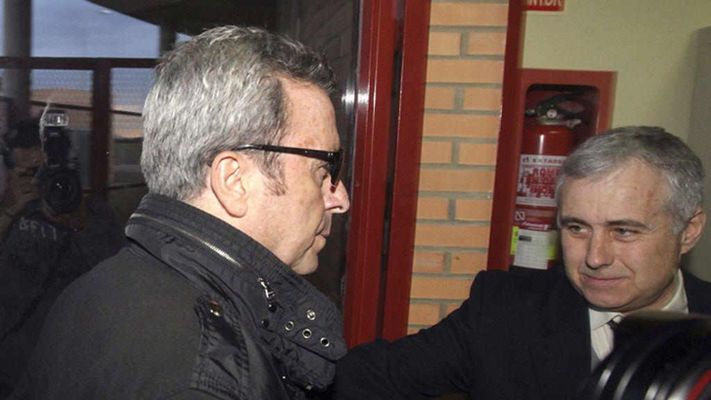 Ortega Cano entra en la prisión de Zuera (Zaragoza) para cumplir su condena