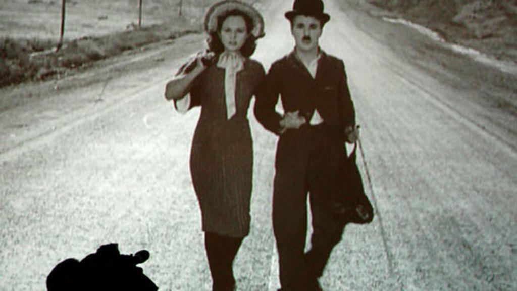 Una de las películas de Chaplin que se proyectan en la muestra. Foto: EFE