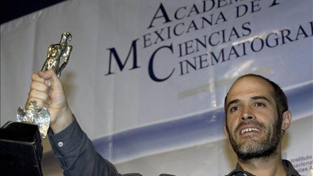 """El realizador Eugenio Polgovsky ganó el pasado marzo el premio Ariel, el máximo galardón del cine mexicano, por el documental """" Los Herederos"""". EFE"""