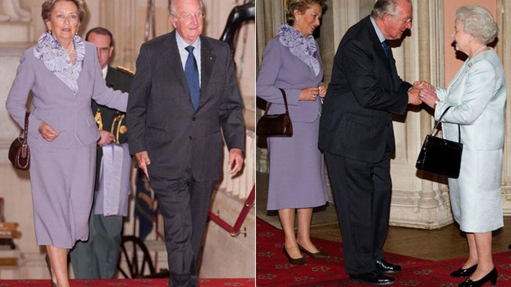 Los reyes de Bélgica, Alberto y Paola