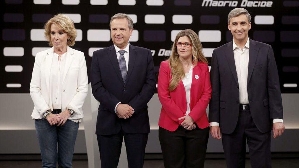 Debate entre los candidatos a la alcaldía de Madrid
