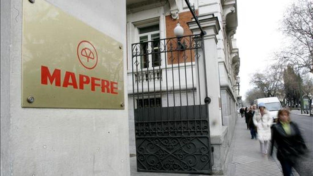Sede de Mapfre en Madrid. EFE/Archivo
