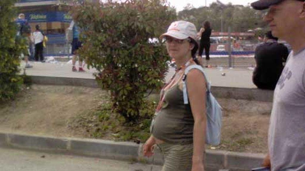 Embarazada en Montmeló