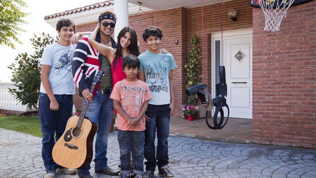 La familia de Coyote Dax, en 'Me cambio de familia'