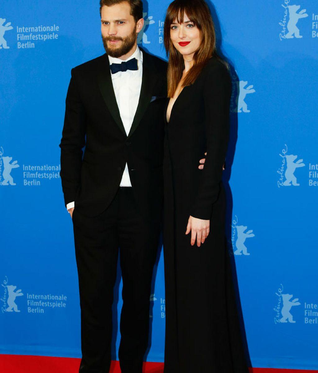 Jamie Dornan y Dakota Johnson, entre los asistentes