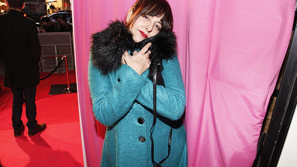 Yolanda Ramos se enfrentó al frío de Madrid con este precioso abrigo
