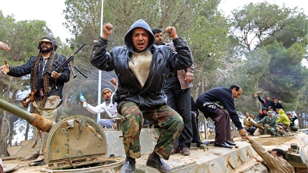 La victoria en el este de Libia