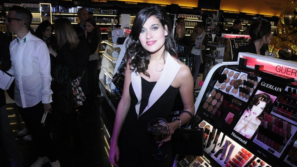 La actriz Iris Lezcano en plena celebración del 15 aniversario de Sephora