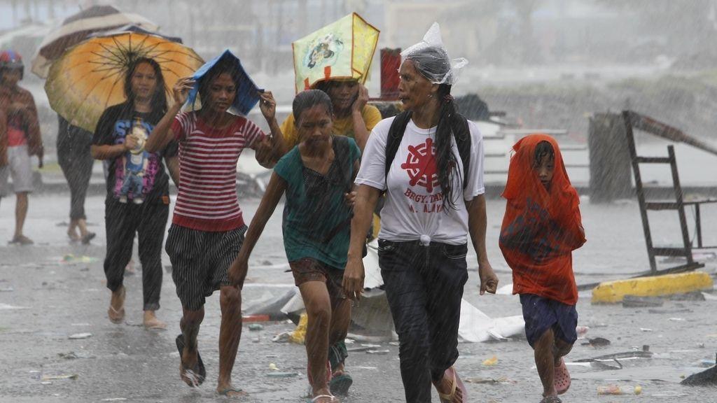 Las consecuencias devastadoras del tifón