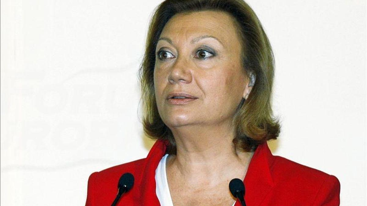 La presidenta del PP en Aragón, Luisa Fernanda Rudi. EFE/Archivo
