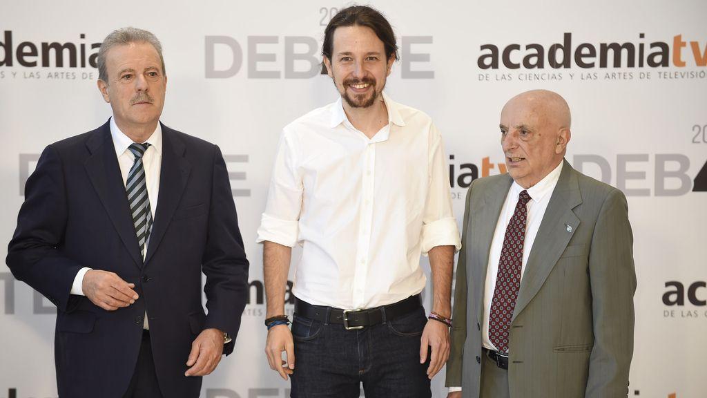 Pablo Iglesias, sin corbata