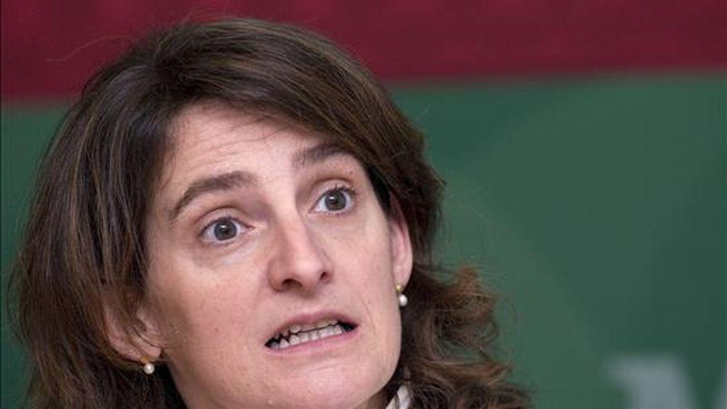 La secretaria de Estado de España sobre cambio climático, Teresa Ribera. EFE/Archivo
