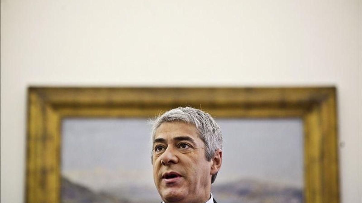 El primer ministro de Portugal, José Sócrates. EFE/Archivo
