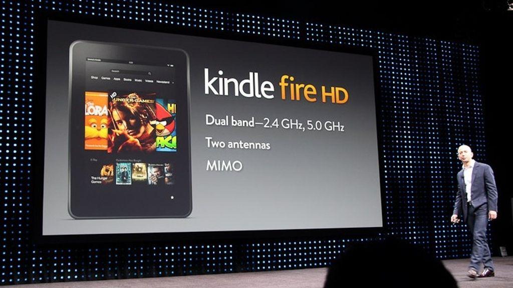 Kindle Fire llega a España un año después, vitaminado y en HD