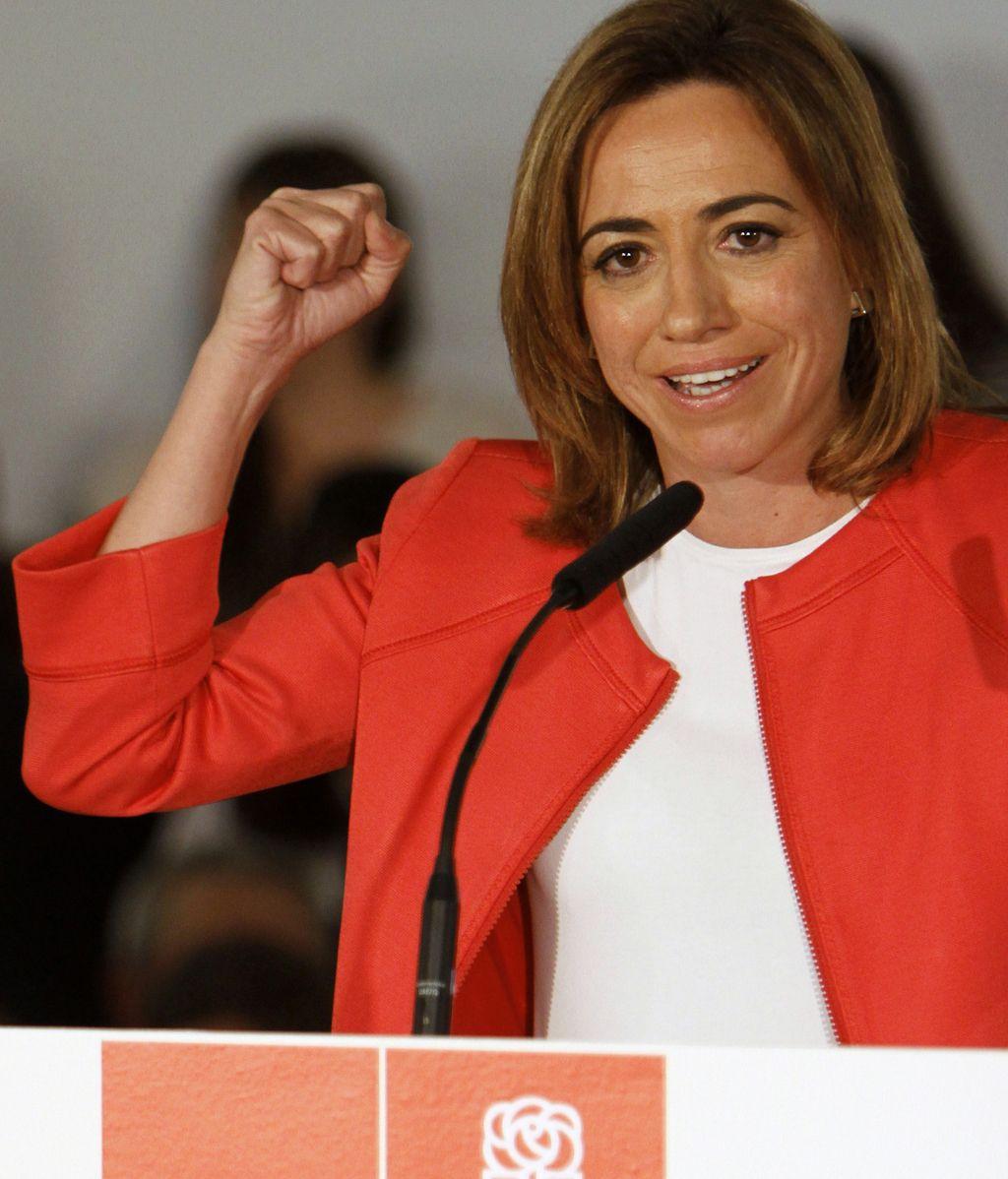Carme Chacón, candidata a las primarias del PSOE