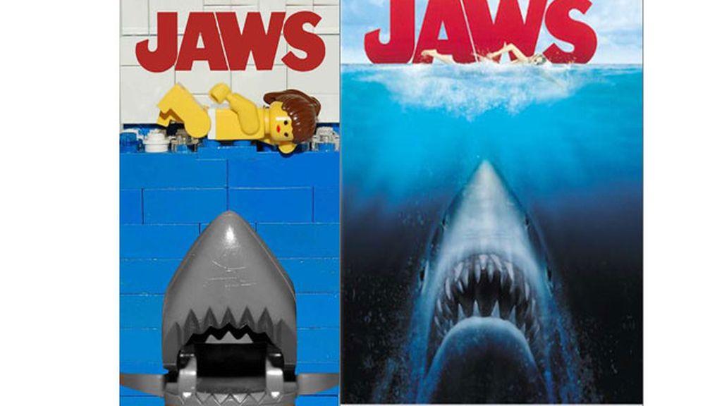 Versión Lego de 'Tiburón'