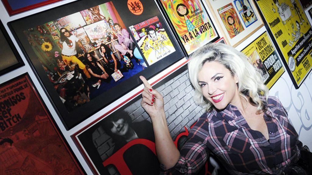 """Silvia Superstar fue, junto a su grupo """"The Killer Barbies"""", otra de las grandes estrellas de la discográfica"""
