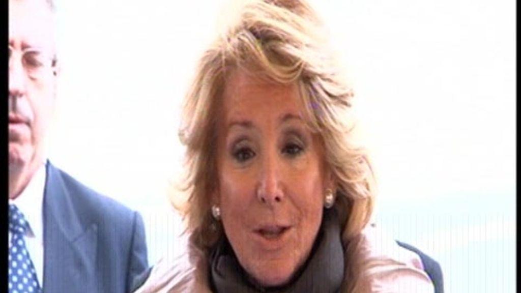 Esperanza Aguirre anuncia que tiene cáncer de mama