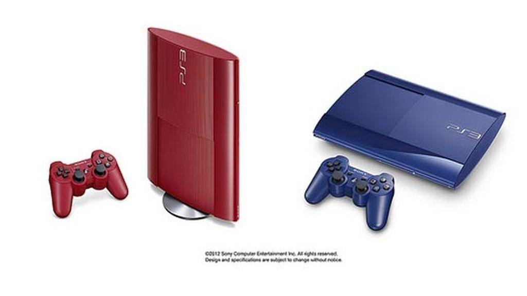 Sony lanzará PlayStation 3 en dos nuevos colores