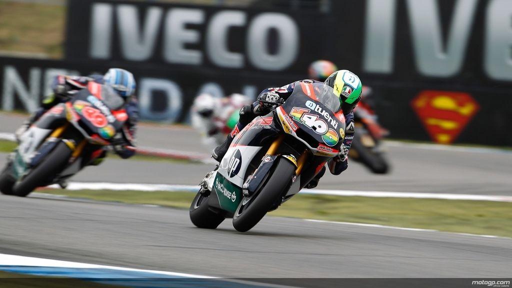 Pol Espargaró fue el más rápido en los libres de Moto2 del GP de Holanda