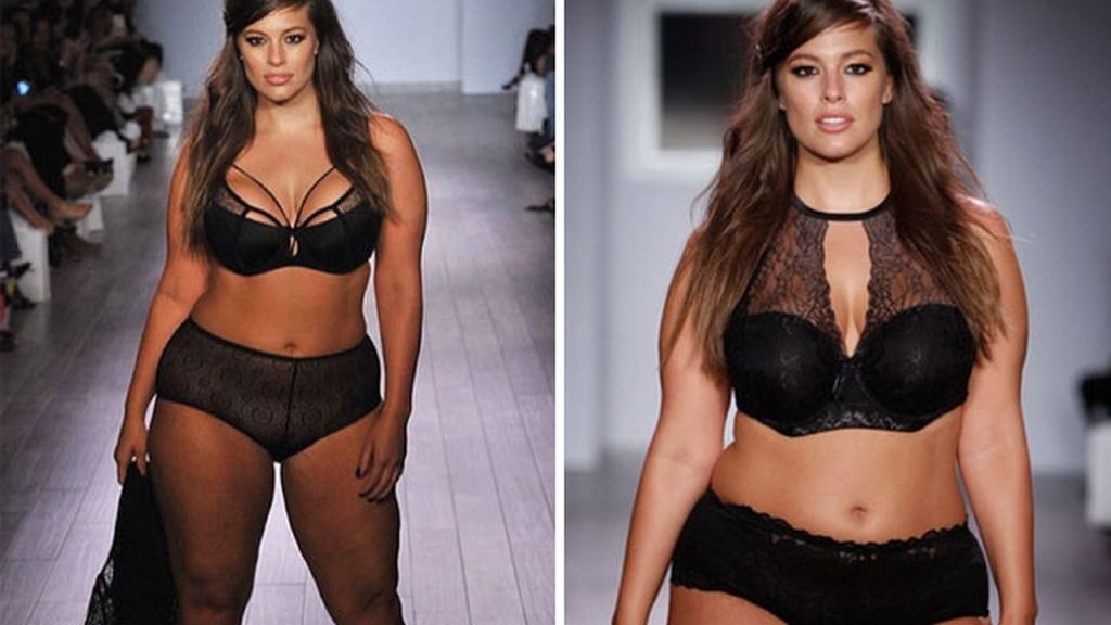 Ashley Graham se sube a la pasarela de la New York Fashion Week