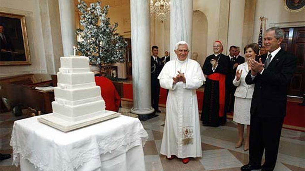 Sorpresa para el Papa