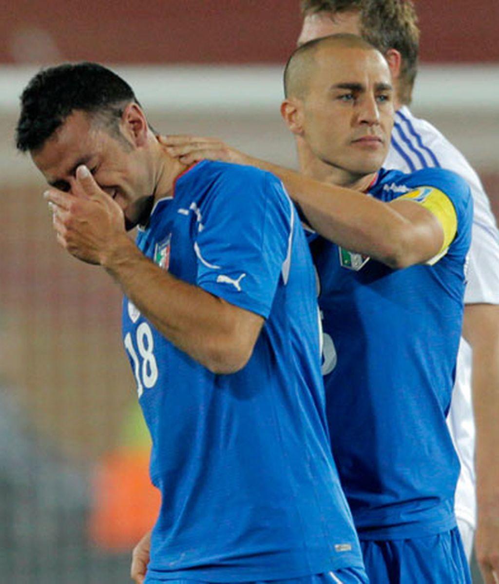 Italia se fue llorando después de un Mundial para olvidar