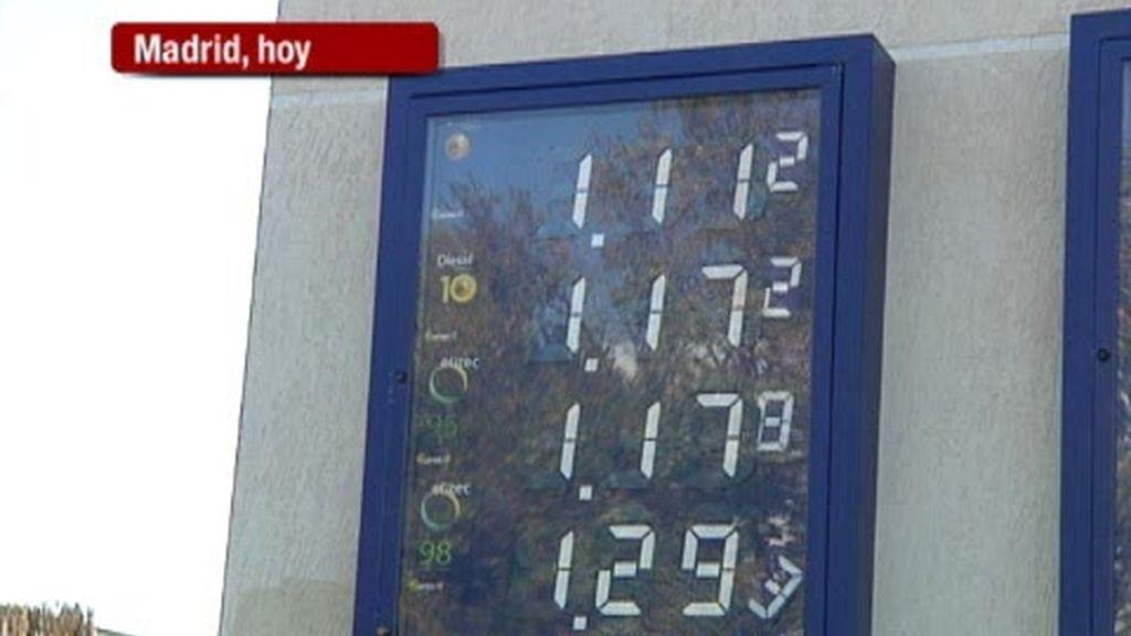 Más desplazamientos, gasolina más cara