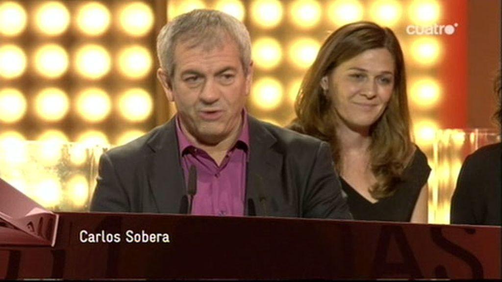 Carlos Sobera, ganador del Premio Ondas al Mejor Programa de Entretenimiento