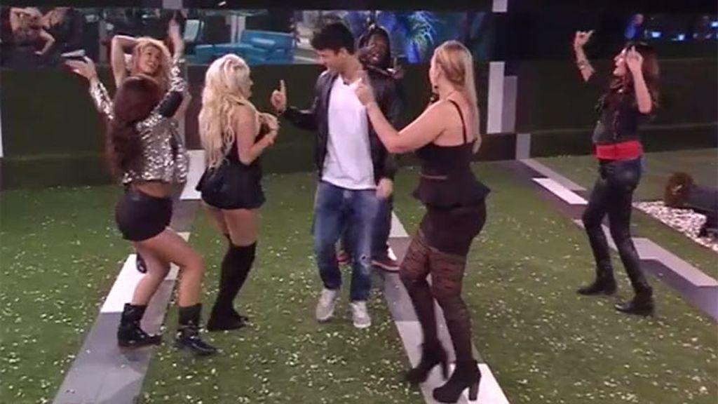 Fede e Ylenia han sido la pareja durante el baile