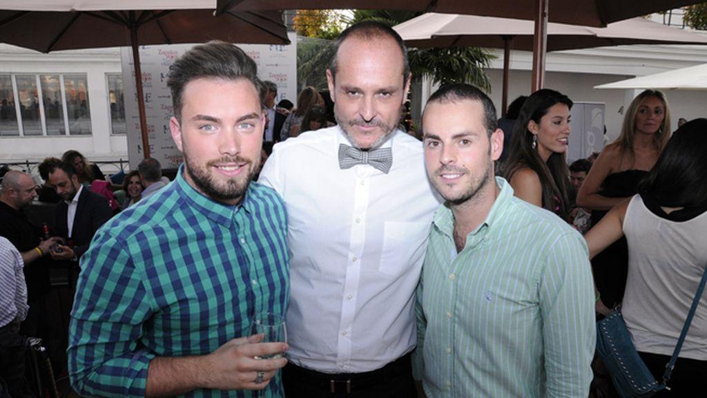 Alberto Alcázar, Nacho Montes y Borja García