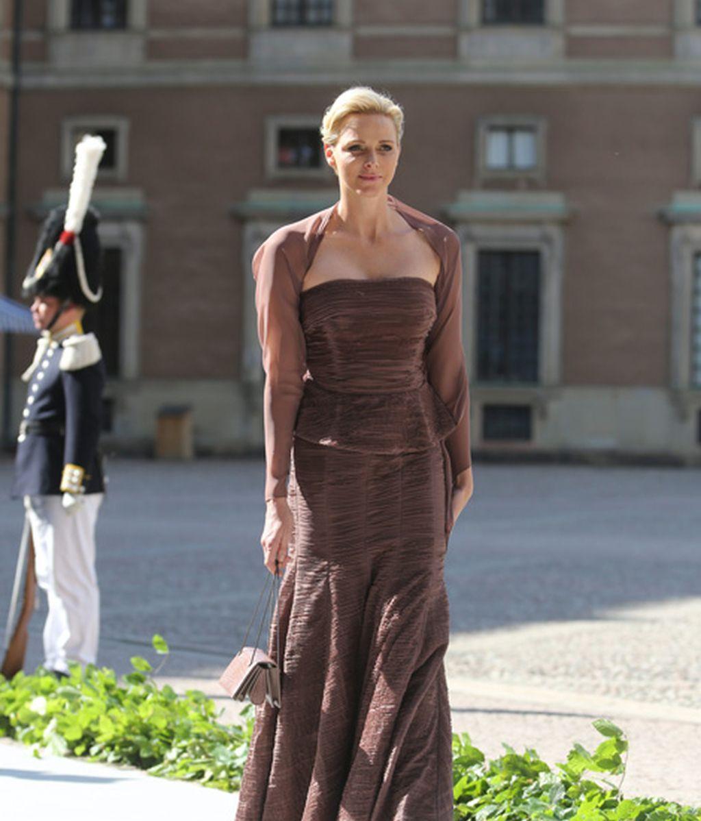 La princesa Charlene de Mónaco, sin Alberto
