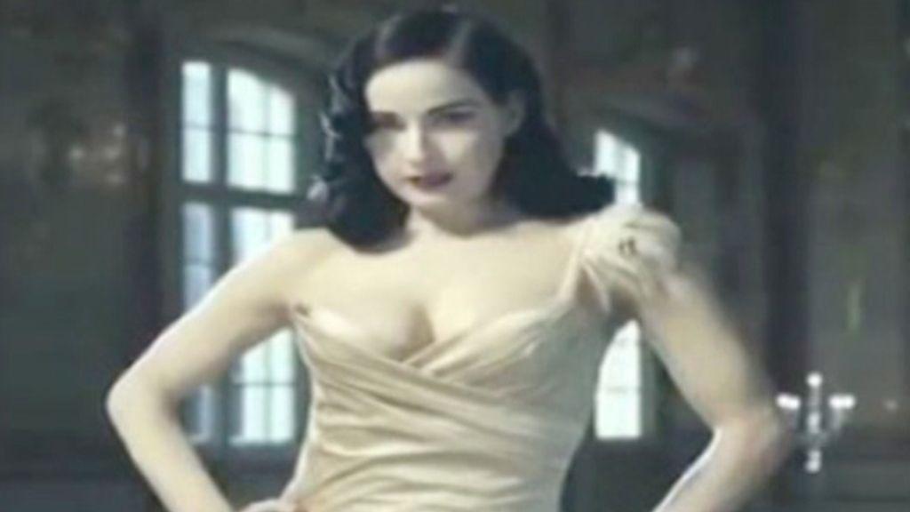 La Dita Von Teese más erótica