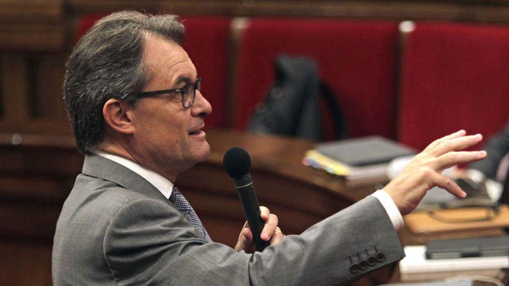 Debate de Política General en el Parlamento catalán