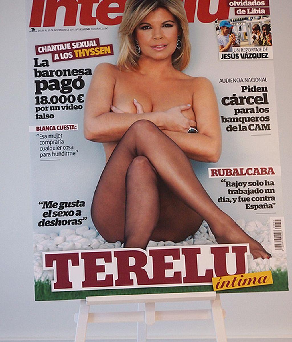 La portada de 'Interviú' de Terelu Campos