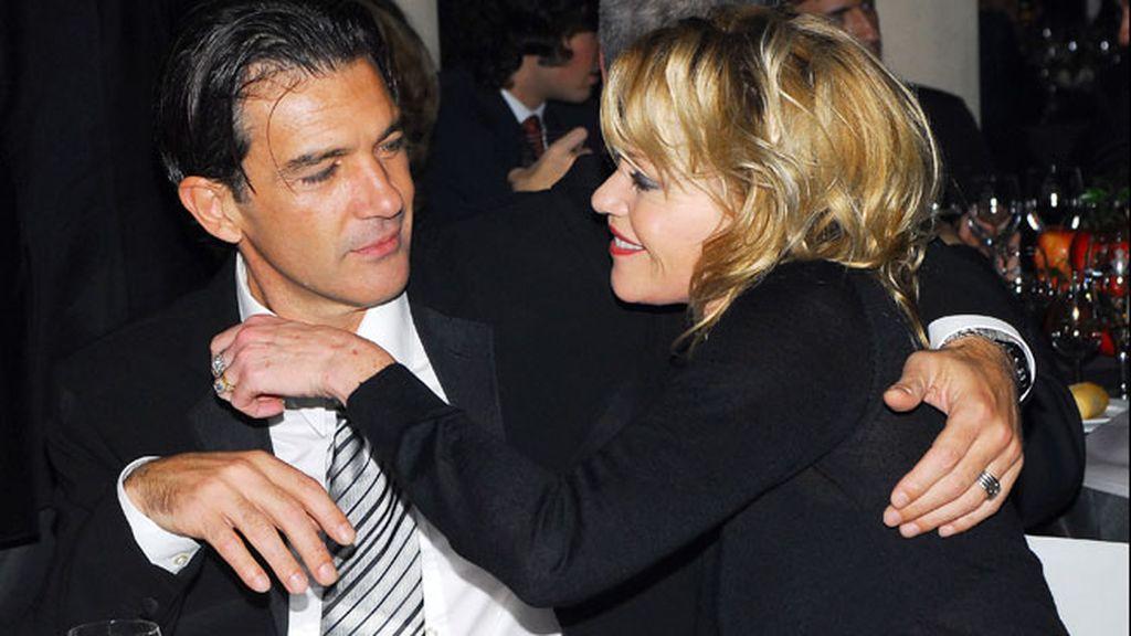 Melanie Griffith y Antonio Banderas siempre han expuesto su amor