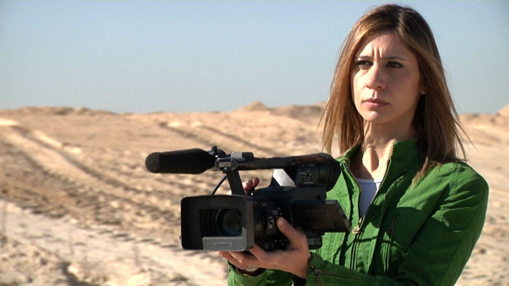 María Pérez, reportera de Callejeros