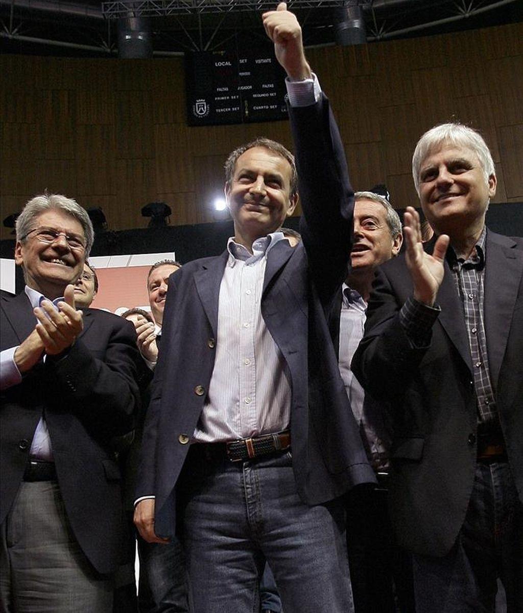 El presidente del Gobierno, José Luis Rodríguez Zapatero, arremete contra el PP. Vídeo: Informativos Telecinco.