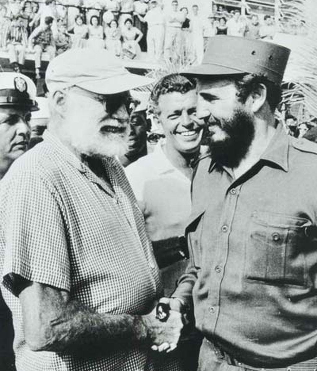 Castro con Hemingway